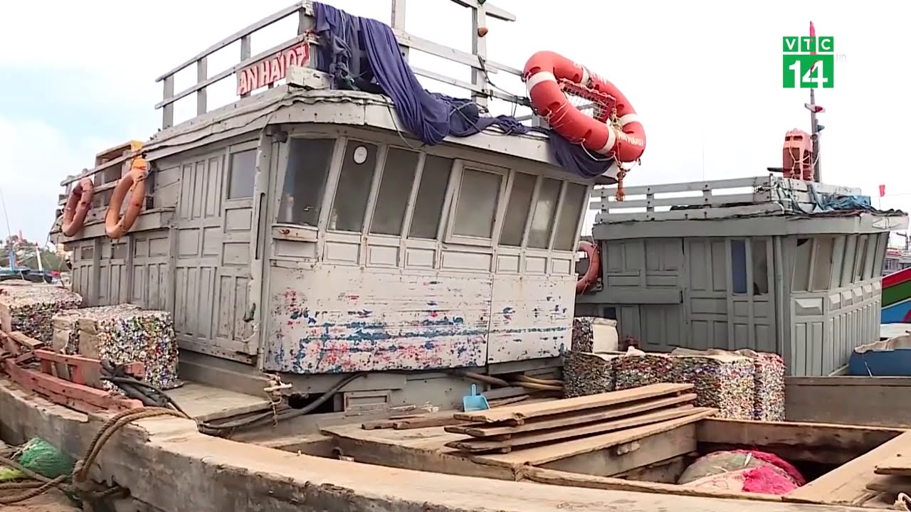 Biển động gây khó khăn cho tuyến vận tải Sa Kỳ – Lý Sơn | VTC14