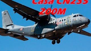Avión Casa CN235 200M vertical leso.
