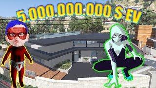 Örümcek Anne ve Örümcek Bebek 5.000.000.000 $ eve gidiyorlar