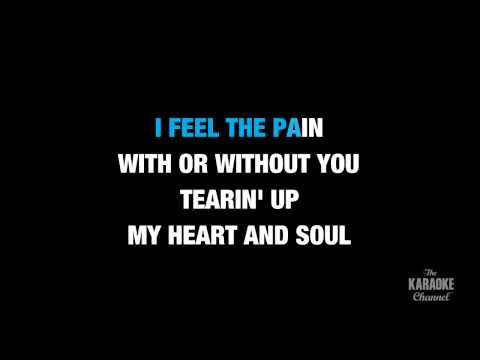 "Tearin' Up My Heart in the Style of ""*NSYNC"" karaoke video with lyrics (no lead vocal)"