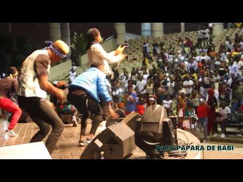 Safarel Obiang au Concert de Force One au palais de la culture