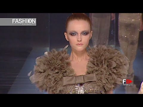VALENTINO Fashion Show Spring Summer 2009 Haute Couture – Fashion Channel