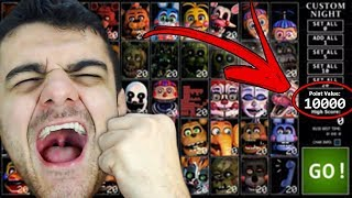 COMO PASSAR A ULTIMATE CUSTOM NIGHT FÁCIL! 🤩 FNAF - HUEstation