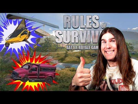 PROVIAMO LA NUOVA MAPPA E I NUOVI VEICOLI RULES OF SURVIVAL!!! SPOILER UPDATE 7 FEBBRAIO!!