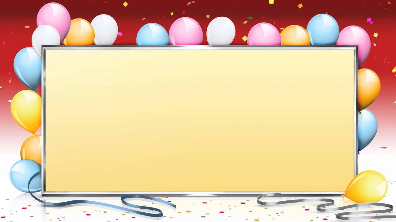 Fondo Video Background Full HD Surprise Party Fiesta