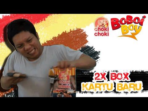 🙌 BUKA 2X BOX + KARTU BARU 🙌 | CHOKI CHOKI BOBOIBOY AUGMENTED REALITY | - Lempar Kotak - ✔