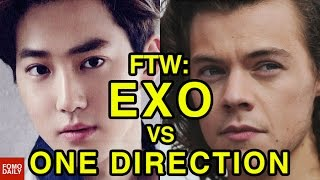 EXO vs One Direction o For The Win MP3