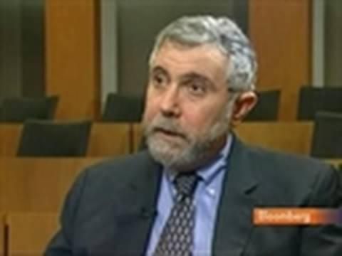 Krugman Discusses U.S. Economy, Austerity Measures: Video