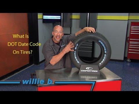 DOT Date Code  Tire Age Explained  Tireseasycom Blog