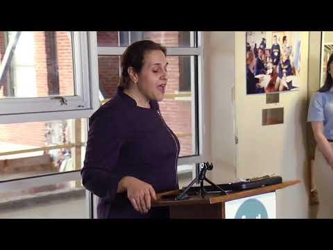 Boston Collegiate Charter School Topping Off Ceremony