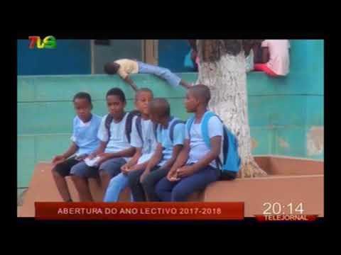 São Tomé e Príncipe: Abertura do ano lectivo 2017 - 2018
