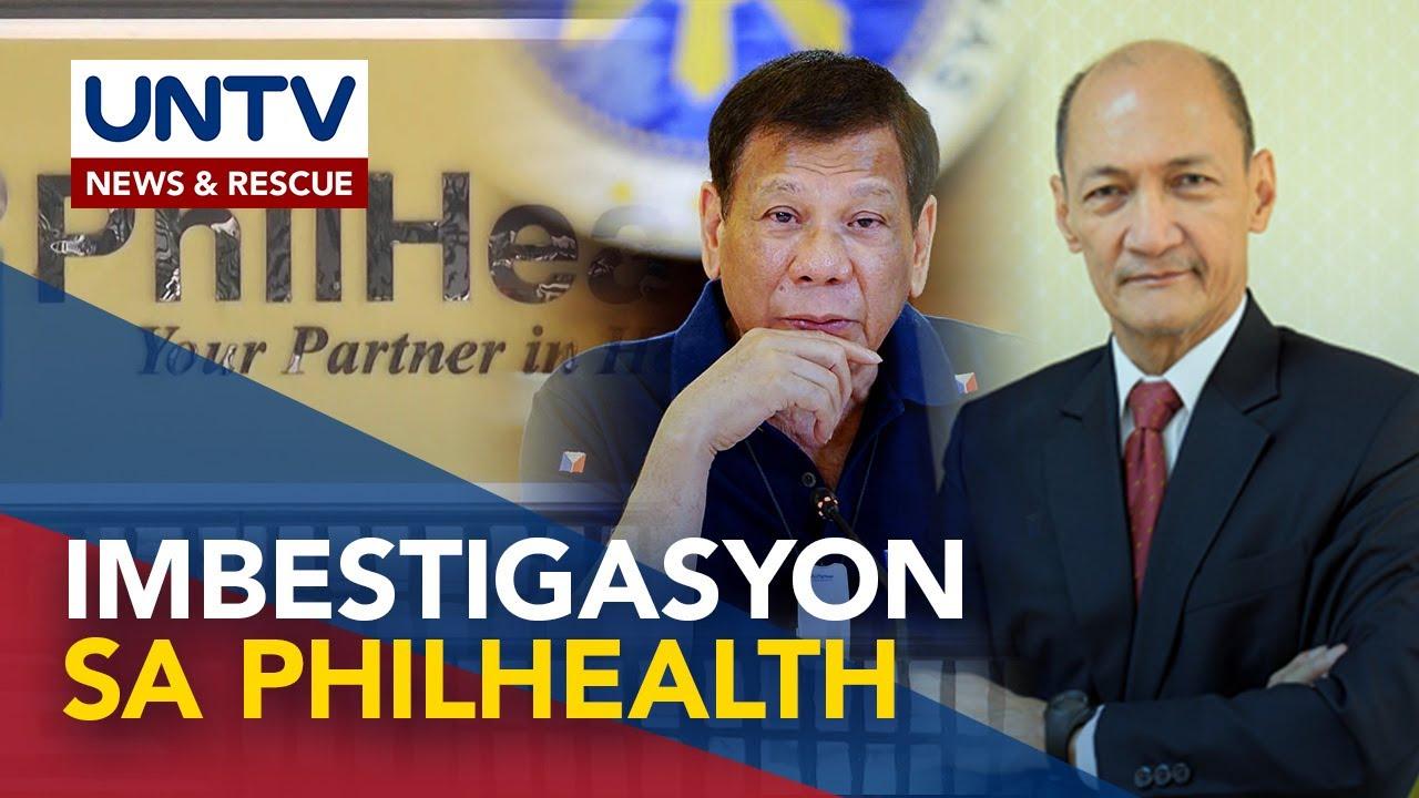 Download Umano'y anomalya sa PhilHealth, pinaiimbestigahan ni Pangulong Duterte