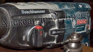 Как починить Bosch GBH 2-28 \ Ремонт перфоратора \ Как обслужить Бош \ Ремонт в Бресте