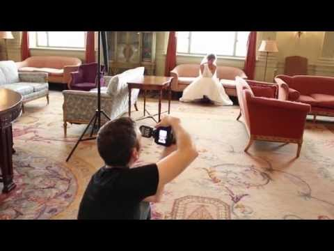 Behind the Scenes: Bridal Photo Shoot