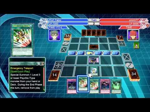 Yu-Gi-Oh Millenium Duels: Psychic Synchro Deck