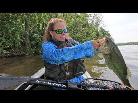 Day 1 (of 4) Kayak Fishing Tournament BKFT BUCKEYE BLITZ Online @ Cowan Lake, Ohio