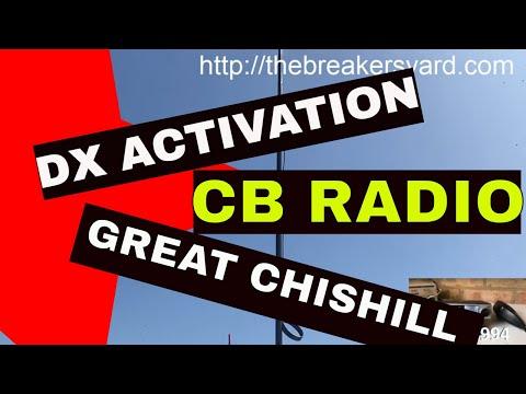 CB Radio UK DX activation