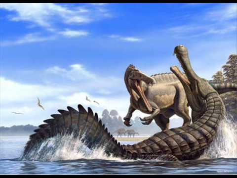 Carcharodon Megalodon vs Sarcosuchus Imperator