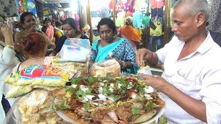 People Enjoying Shopping with Papri Chaat & Jhal Muri | Street Food Kolkata Gariahat More