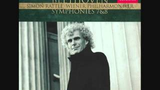 Sir Simon Rattle -  Beethoven -  Symphony No.  7 Mov.  II