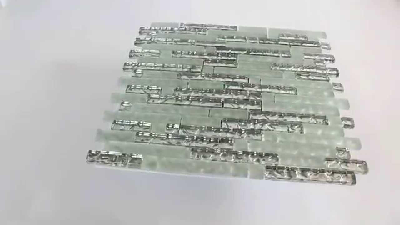 glas mosaik fliesen silber metall wassertropfen youtube. Black Bedroom Furniture Sets. Home Design Ideas