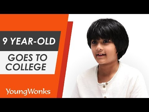 9 Year-Old Kairan Quazi Goes to College