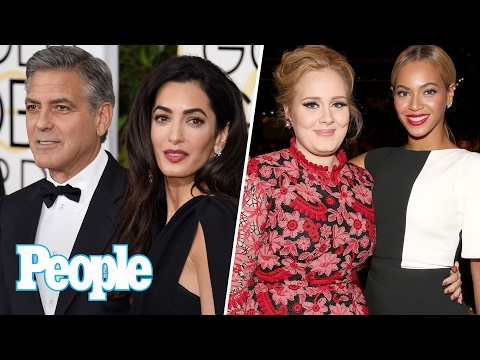 Beyoncé vs. Adele At The Grammys, Matt Damon Reacts To George Clooney's Baby | People NOW | People