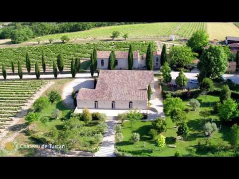 Vidéo Château Turcan et Musée des Arts et des Métiers du Vin, Ansouis Vaucluse