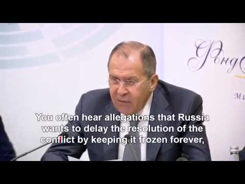 Lavrov: No one more interested in resolving Ukraine conflict than Russia