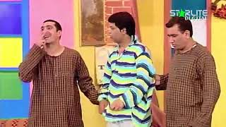 Zafri Khan and Nasir Chinyoti New Pakistani Stage Drama Full Comedy Funny Clip | Pk Mast