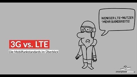 3G vs. LTE - wo liegt der Unterschied?