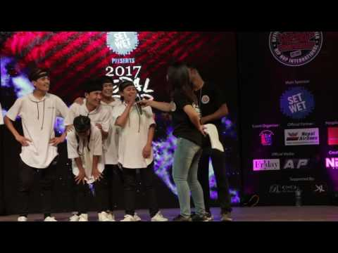 Top 9  Hip Hop Dance Crew together for the first time @ Nepal Hip Hop Dance Championship 2017
