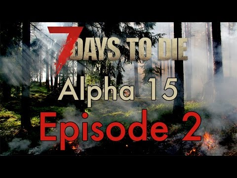 Missile silo (end) and hunting - Episode 2 - Let's play 7 days to die Alpha 15