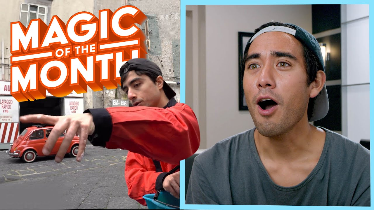 Reacting to your Homemade Tricks   MAGIC OF THE MONTH - August 2021