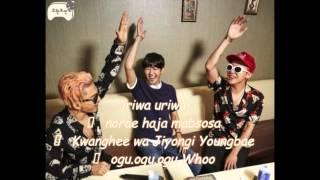 infinity challenge mapsosa omg lyrics hwangtaegee kwanghee taeyang and gd