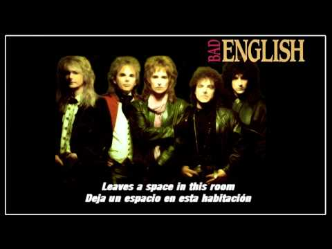 Bad EnglishPossession(Subtitulos - Español)