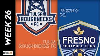 Tulsa Roughnecks FC Vs. Fresno FC August 31st 2019