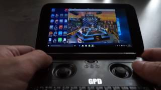 GPD WIN Game Test   QQ Flying Cars