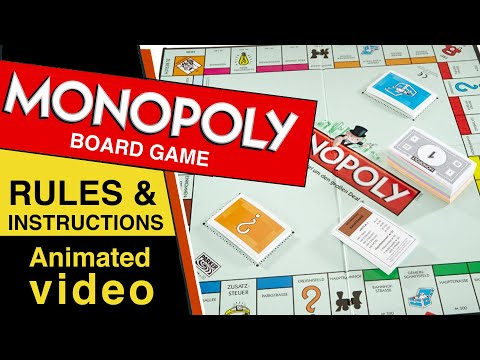Monopoly  Board Game Rules & Instructions | How To Play Monopoly