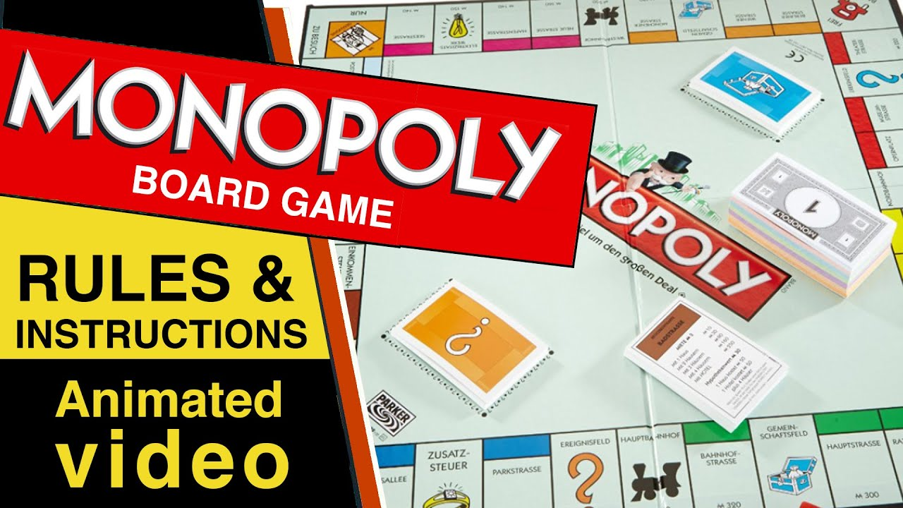 Monopoly Board Game Rules & Instructions | How to Play ...