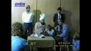 Majlis e Irfan 23 August 1987.