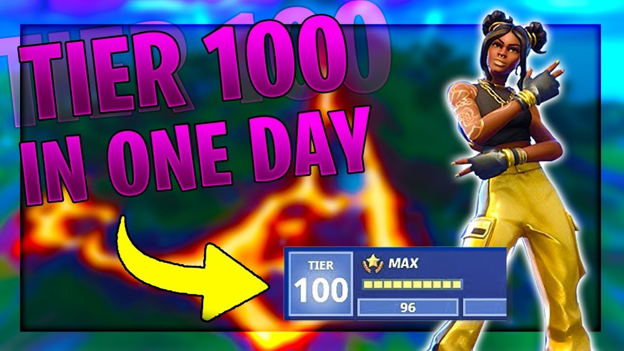 How To Tier Up Fast In Fortnite Season 8 Tier 100 In One Day