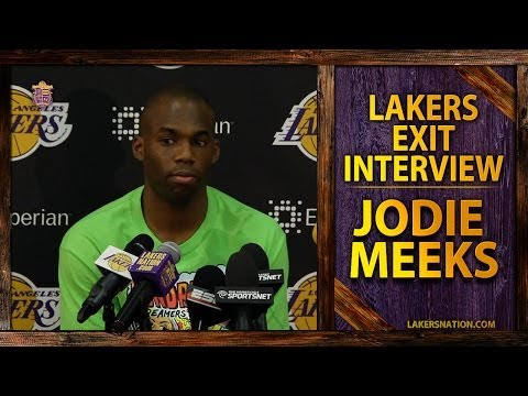 Lakers 2014 Exit Interview: Jodie Meeks, Playing Here Is 'A Dream,' Most Improved Player