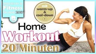 Workout für Zuhause - 20 Min HIIT für Anfänger & Fortgeschrittene - Ganzer Körper trainieren
