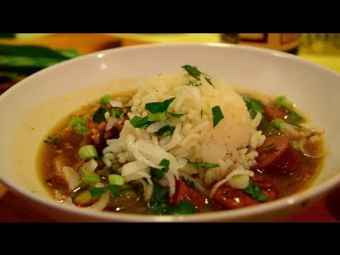 Chicken Sausage Gumbo Youtube