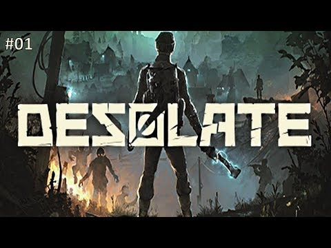 Desolate PC Gameplay Deutsch #01 - Lets Play - Deutsch / German