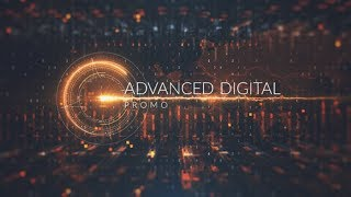 After Effects Template 2018 - Advanced Digital Promo Hi Tech Template By After Effects cc 2018