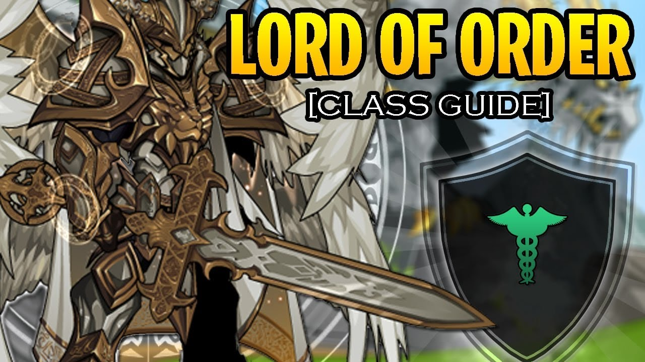 Aqw how to get lord of order class