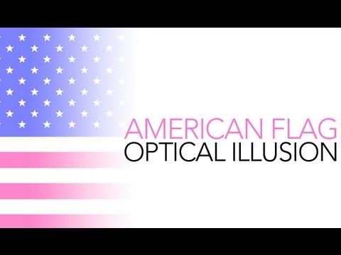 flag illusion american optical sick science