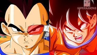 "OVER 9000 DAMAGE WITH BASE GOKU & BASE VEGETA! - Dragon Ball FighterZ ""Base Goku"" & ""Base Vegeta"""